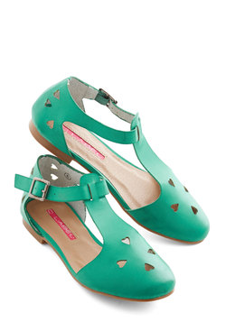 Made to Meander Flat in Jade