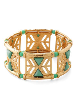 In the Cabana Bracelet in Mint