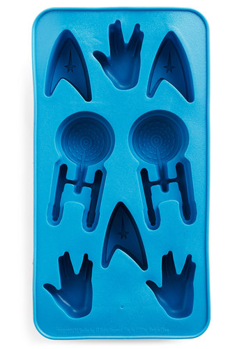 Stardate with Destiny Ice Cube Tray - Blue, Sci-fi, Good, Nifty Nerd, Guys