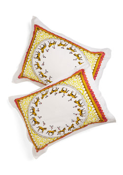 Entertain the Idea Pillow Sham Set