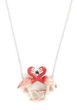 Flamingo Affection Necklace