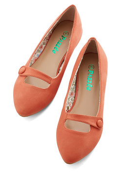 Morning Amour Flat in Clementine