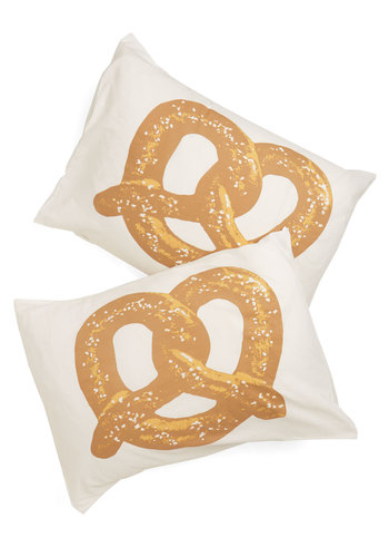 Snack Nap Pillowcase Set - Multi, Food, Better, Novelty Print, Dorm Decor, Quirky, Exclusives