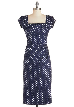 Styling Speech Dress in Dots