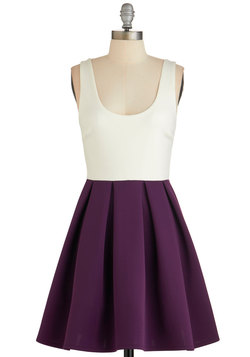 Casually Captivating Dress in Aubergine