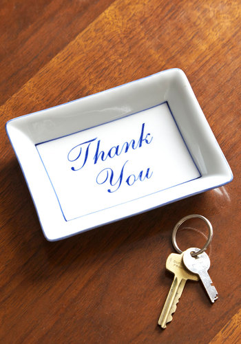 Grateful Greeting Tray - Multi, Minimal, Good, Novelty Print, Hostess