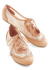 Twee and Easy Flat in Blush
