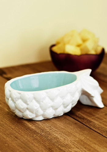 Sweet Treat Yourself Bowl by IMM Living - White, Food, Better, Blue, Fruits, Hostess