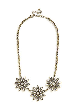 Brilliant Blossoms Necklace