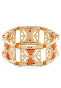 In the Cabana Bracelet in Orange