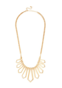 Opulent Outline Necklace