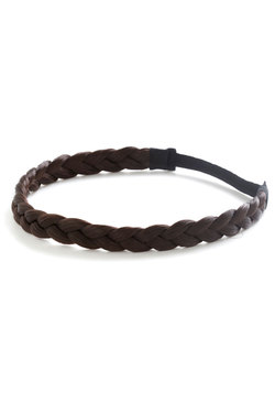 Off the Coif Headband in Dark Brown