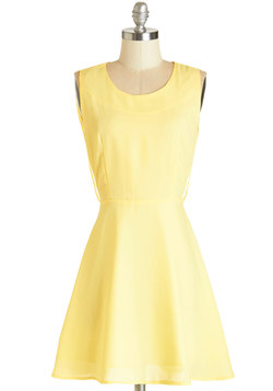 A Butter Tomorrow Dress