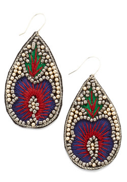 Flaunting Fabulous Earrings