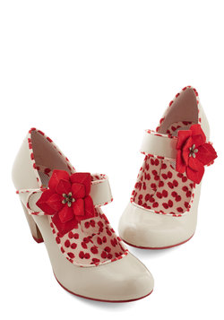 Petaled Steps Heel