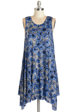 The Swingingest Spots Dress in Floral