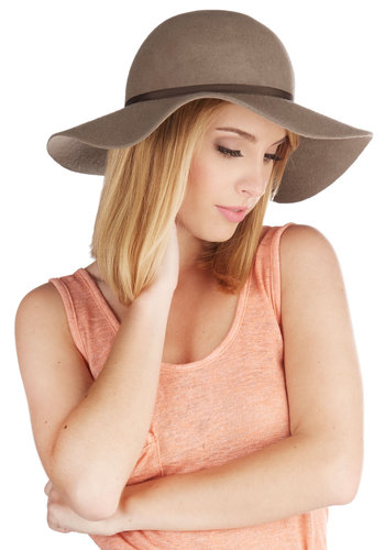 Rocky Beaches Hat - Tan, Brown, Solid, Casual, Beach/Resort, Boho, Safari, Festival