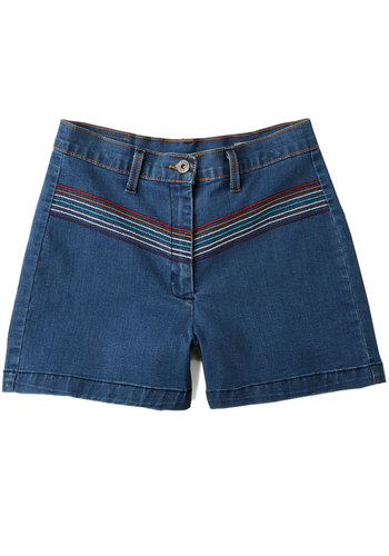 Womens Vintage Retro 1950s Shorts