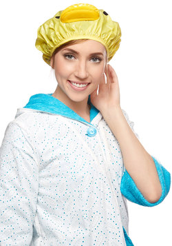 Singing Skills Shower Cap in Duck