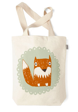 The Crowd Goes Wilderness Tote in Fox