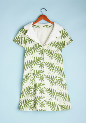 Vintage Best Ferns Forever Dress