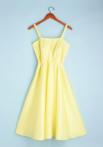 Vintage Sunshine and Dine Dress