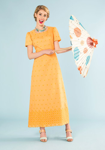 Vintage Quite All Bright Dress