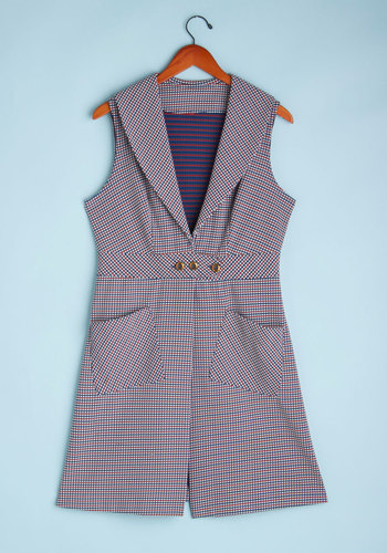 Vintage Croquet Anything Vest