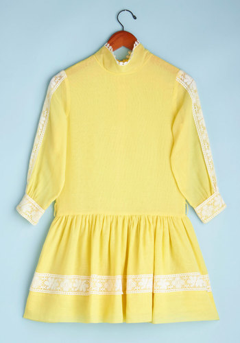 Vintage Sunny Splendor Dress