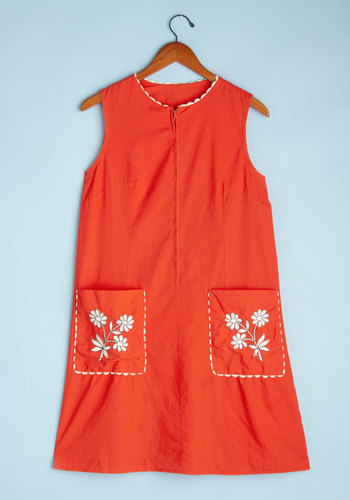 Vintage Outdoor Stage Dress