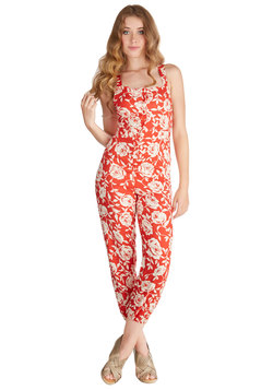 Flit Among the Flowers Jumpsuit