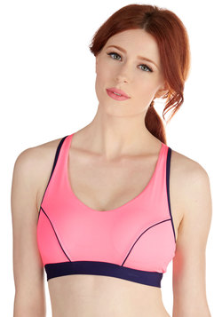 Stay Close to Om Sports Bra in Bright Lotus