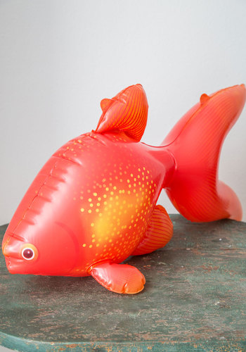 Gill You Be Mine? Inflatable - Orange, Nautical, Quirky, Good, Critters, Summer, Under $20