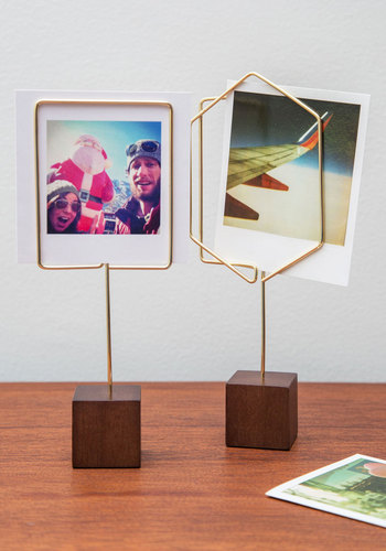 Simple Showcase Photo Holder - Gold, Minimal, Good, Variation