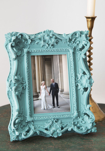 Touching Memories Frame - Multi, French / Victorian, Steampunk, Good, Blue, Purple, Solid, Wedding, Pastel, Hostess, Gals