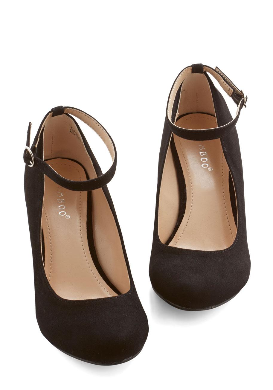 Black Work Heels | Tsaa Heel