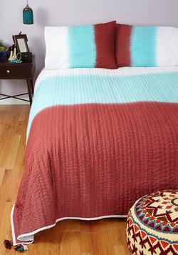 Home Sweet Ombre Quilt Set in Queen