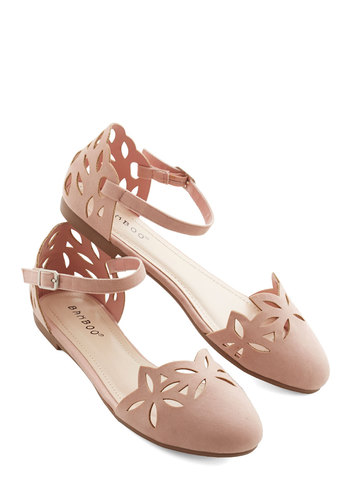 Rosé to the Occasion Flat - Flat, Pink, Solid, Cutout, Daytime Party, Darling, Good, Pastel
