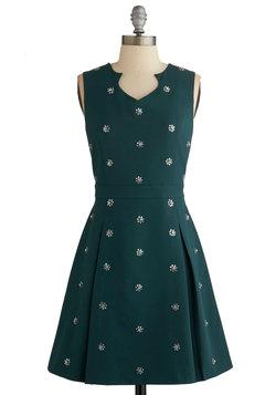 Clustered Luster Dress