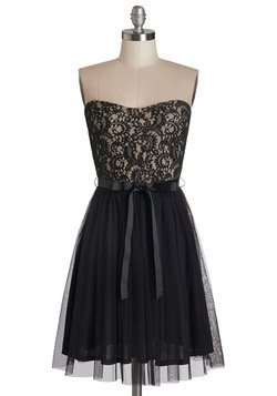 Noir Narrative Dress