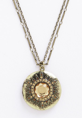 Bursting with Beauty Necklace - Boho, Fairytale, Darling, Gold, Exclusives