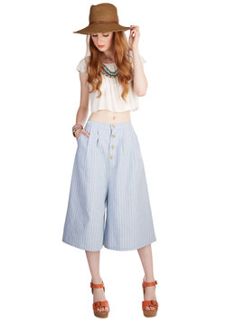 Swinging in the Sun Culottes Pants