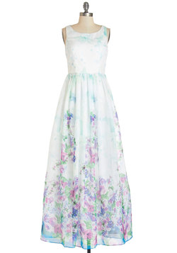 Wall of Flowers Dress
