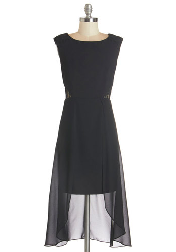 Whatever You Soiree Dress - Black, Solid, Lace, Special Occasion, Party, A-line, Sleeveless, Woven, Better, Scoop, Lace, LBD