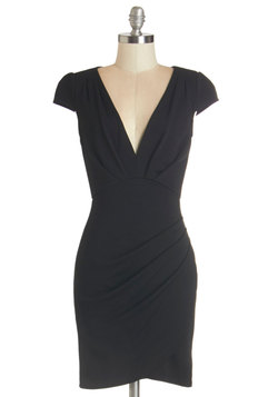 The Mingle Life Dress in Black