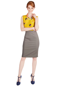 Executive Elegance Skirt