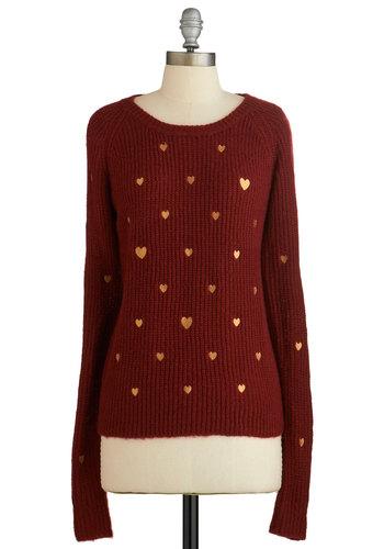 Ticker Talk Sweater