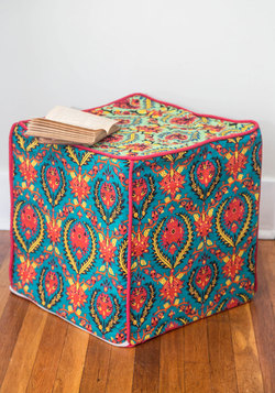 'Til There was Cube Pouf