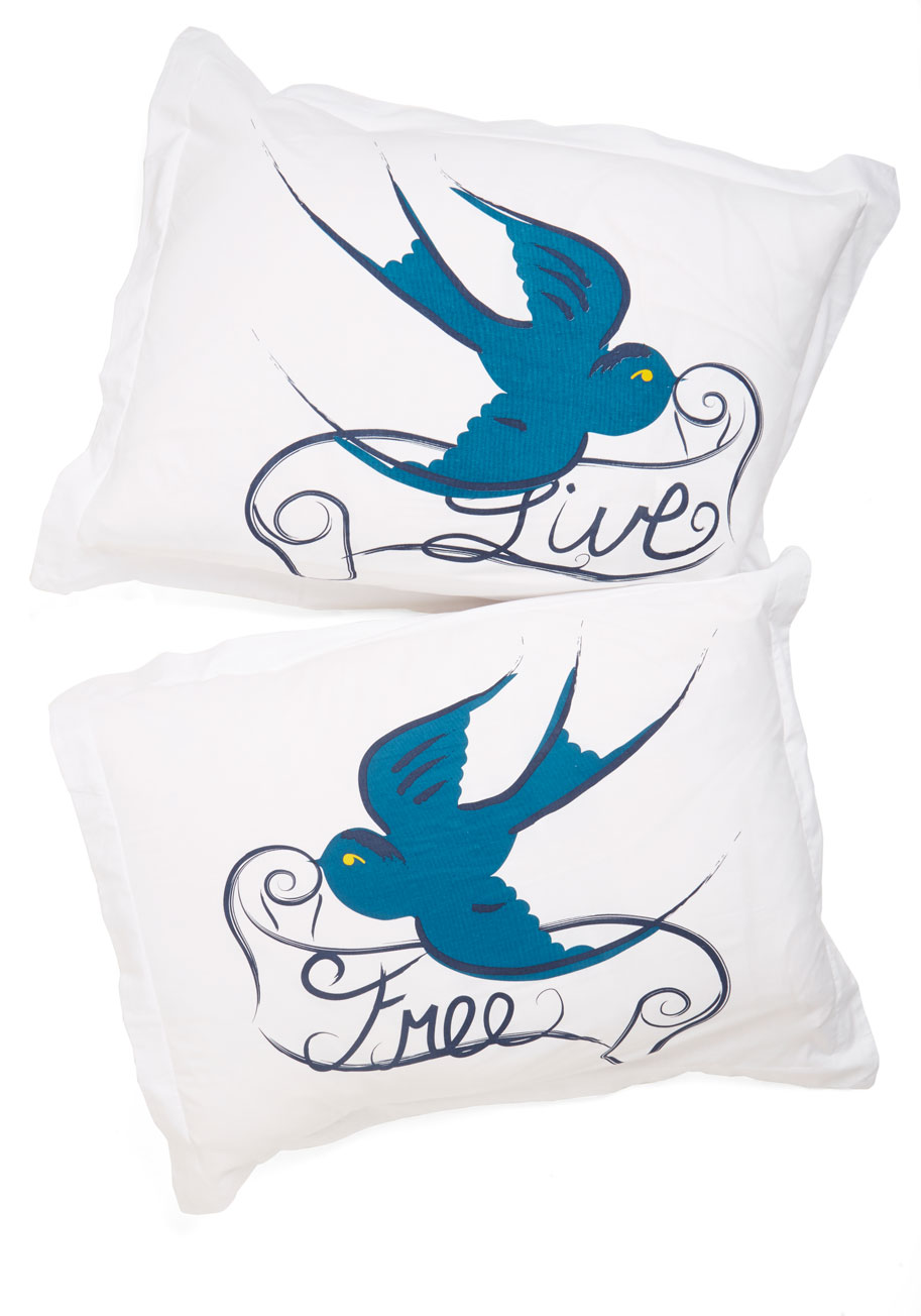 Too Cute to be True Pillow Sham Set Mod Retro Vintage Decor Accessories ModCloth.com