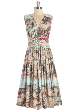 Travelin' Twirl Dress in Country